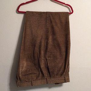 Louis Raphael corduroy Pants size 42-32
